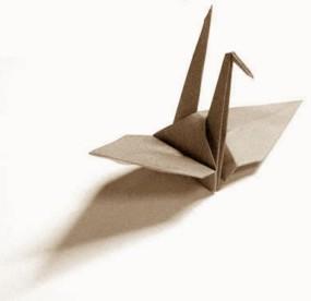 約束の鶴の画像